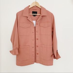 Sanctuary Four Pocket Utility Jacket Terra-cotta